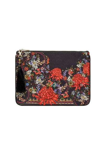 SMALL CANVAS CLUTCH MS MATILDA
