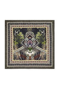 LARGE SQUARE SCARF BOTANICAL CHRONICLES