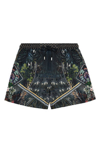ELASTIC WAIST BOARDSHORT BOTANICAL CHRONICLES