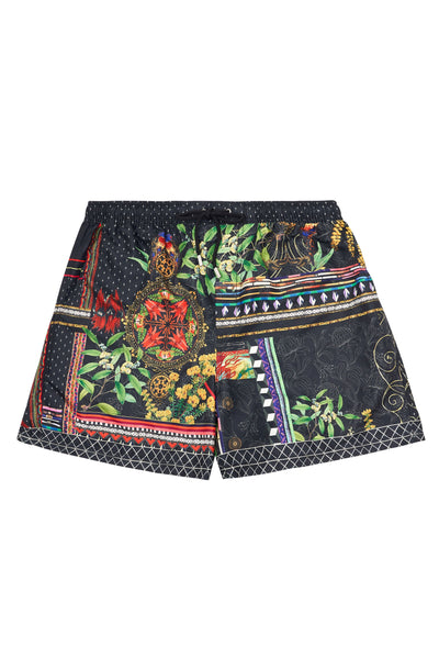 ELASTIC WAIST BOARDSHORT BLACKHEATH BETTY