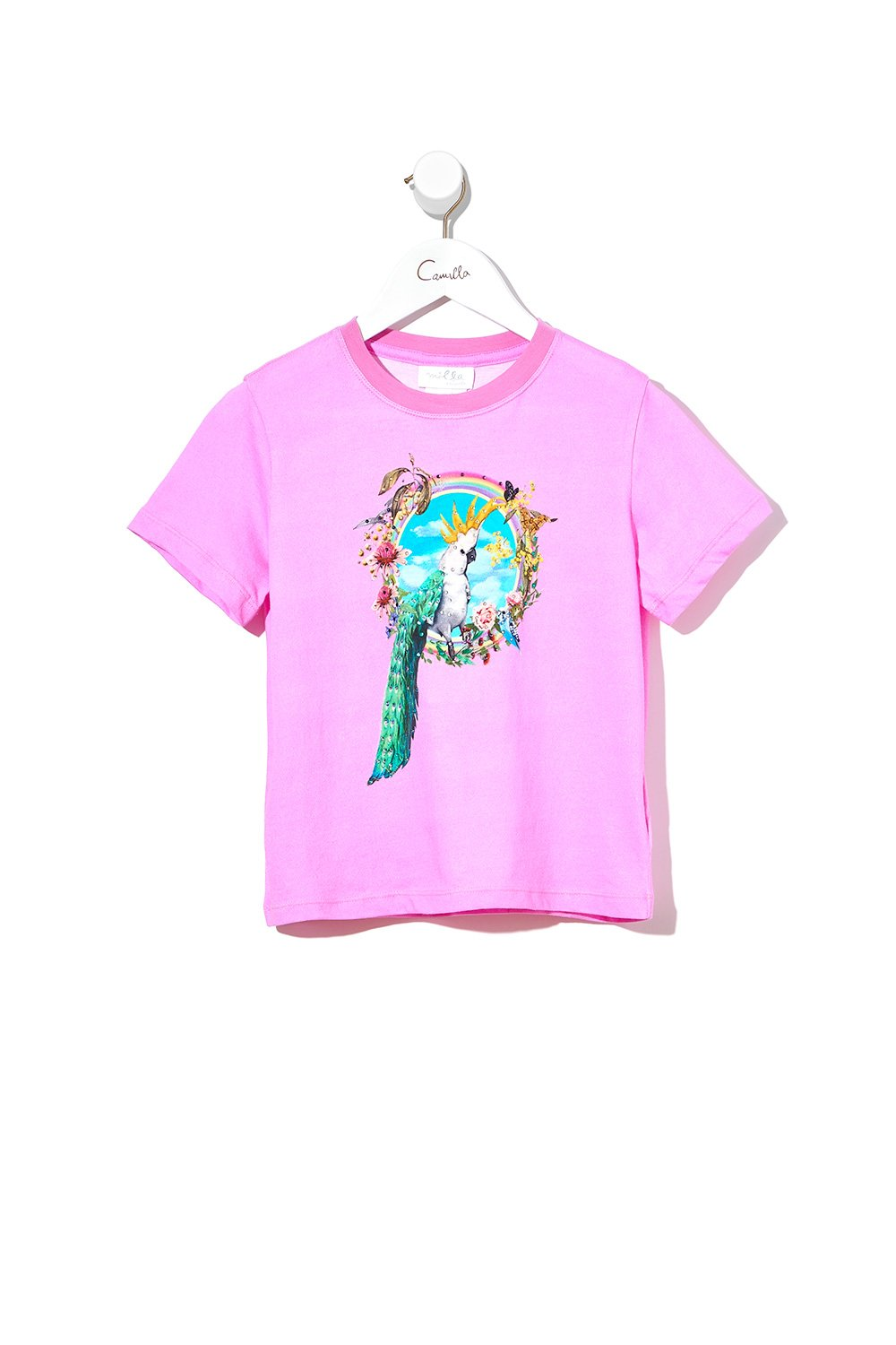 INFANTS SHORT SLEEVE T-SHIRT LETS TAKE A TRIP