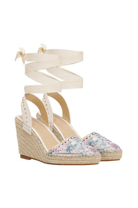 ESPADRILLE WEDGE BEACH SHACK