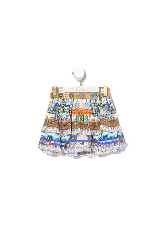 INFANTS DOUBLE LAYER FRILL SKIRT GONE COAST