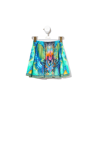 KIDS ELASTIC WAIST SKIRT REEF WARRIOR