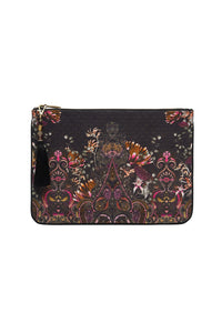 SMALL CANVAS CLUTCH RESTLESS NIGHTS