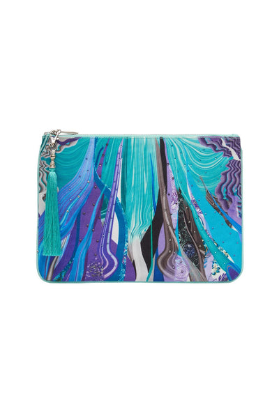 SMALL CANVAS CLUTCH WATEGOS WANDERLUST