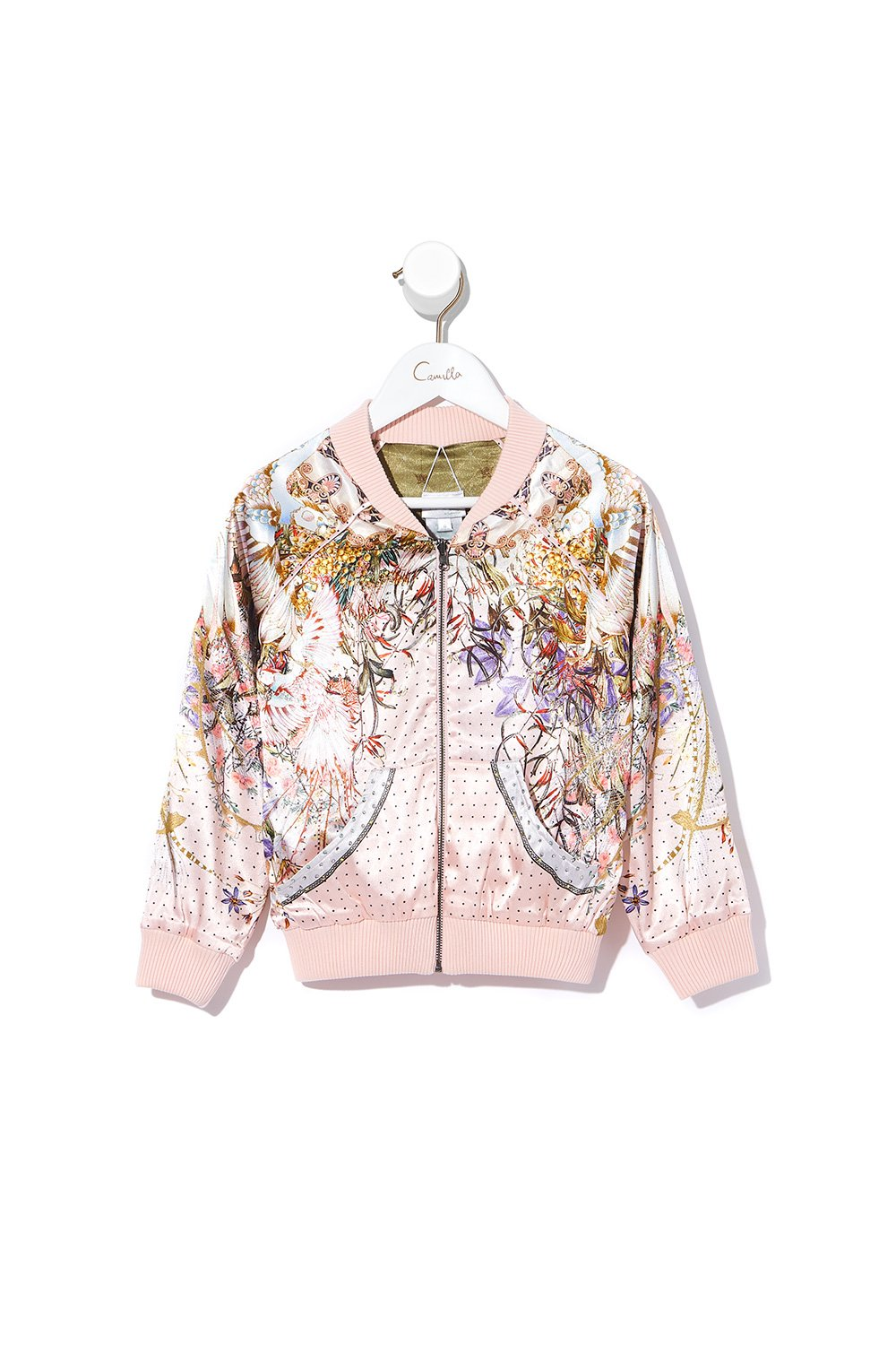 INFANTS REVERSIBLE BOMBER JACKET KINDRED SKIES