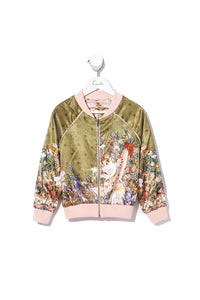 KIDS REVERSIBLE BOMBER JACKET KINDRED SKIES