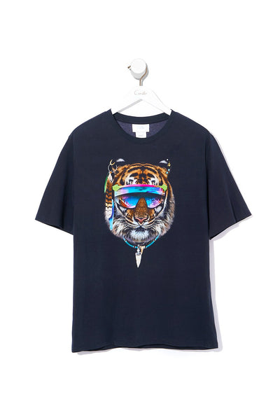 ROUND NECK T SHIRT WATCHFUL WINGS
