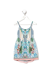 INFANTS TIE BACK DRESS BEACH SHACK