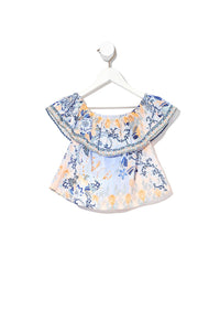 INFANTS OFF THE SHOULDER TOP FRASER FANTASIA