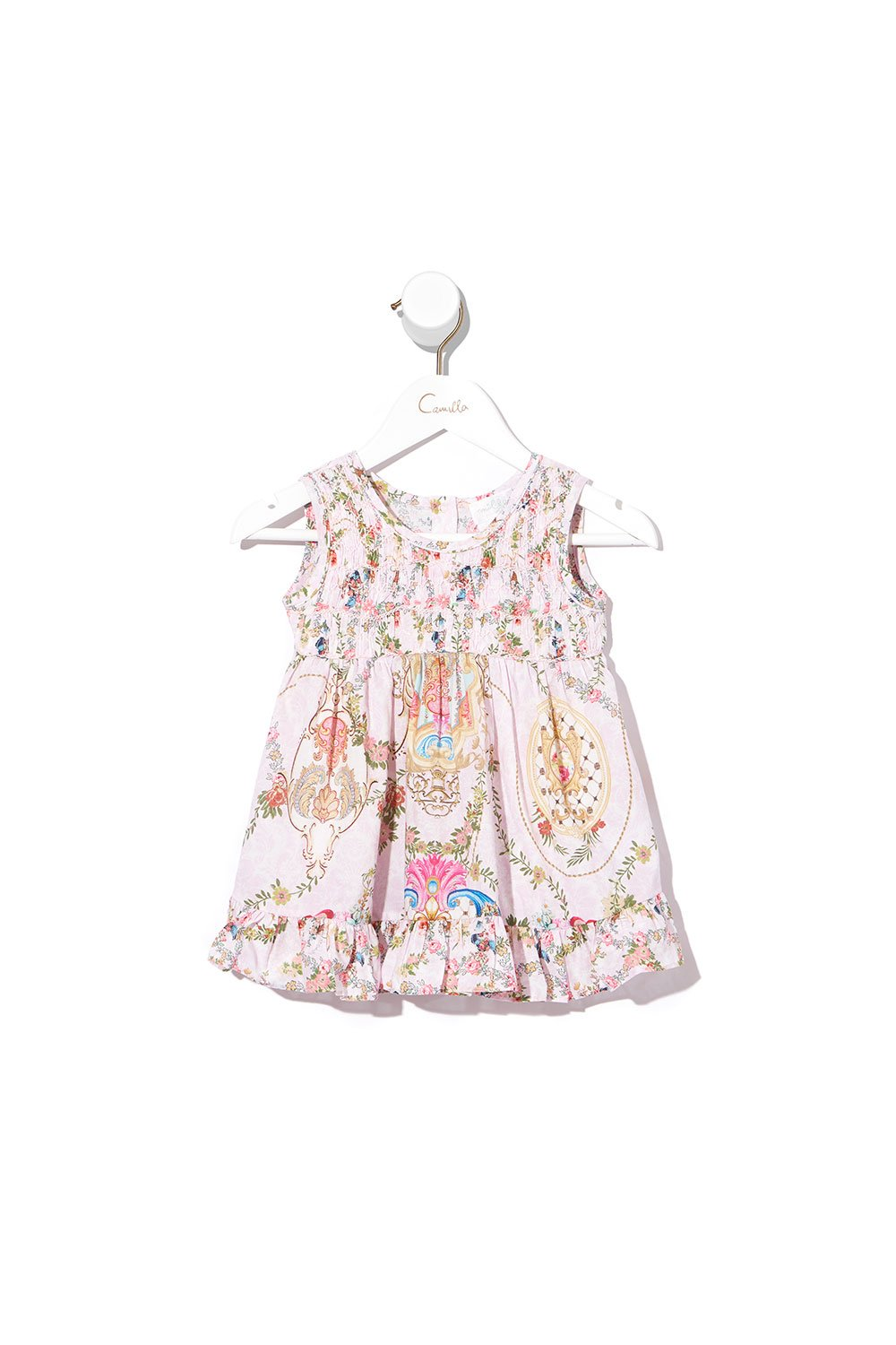 BABIES SMOCK DRESS LITTLE PETAL