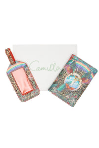 PASSPORT HOLDER ANDLUGGAGE TAG FARAWAY TREE