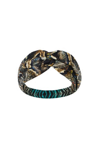 WOVEN TWIST HEADBAND MATERNAL INSTINCT