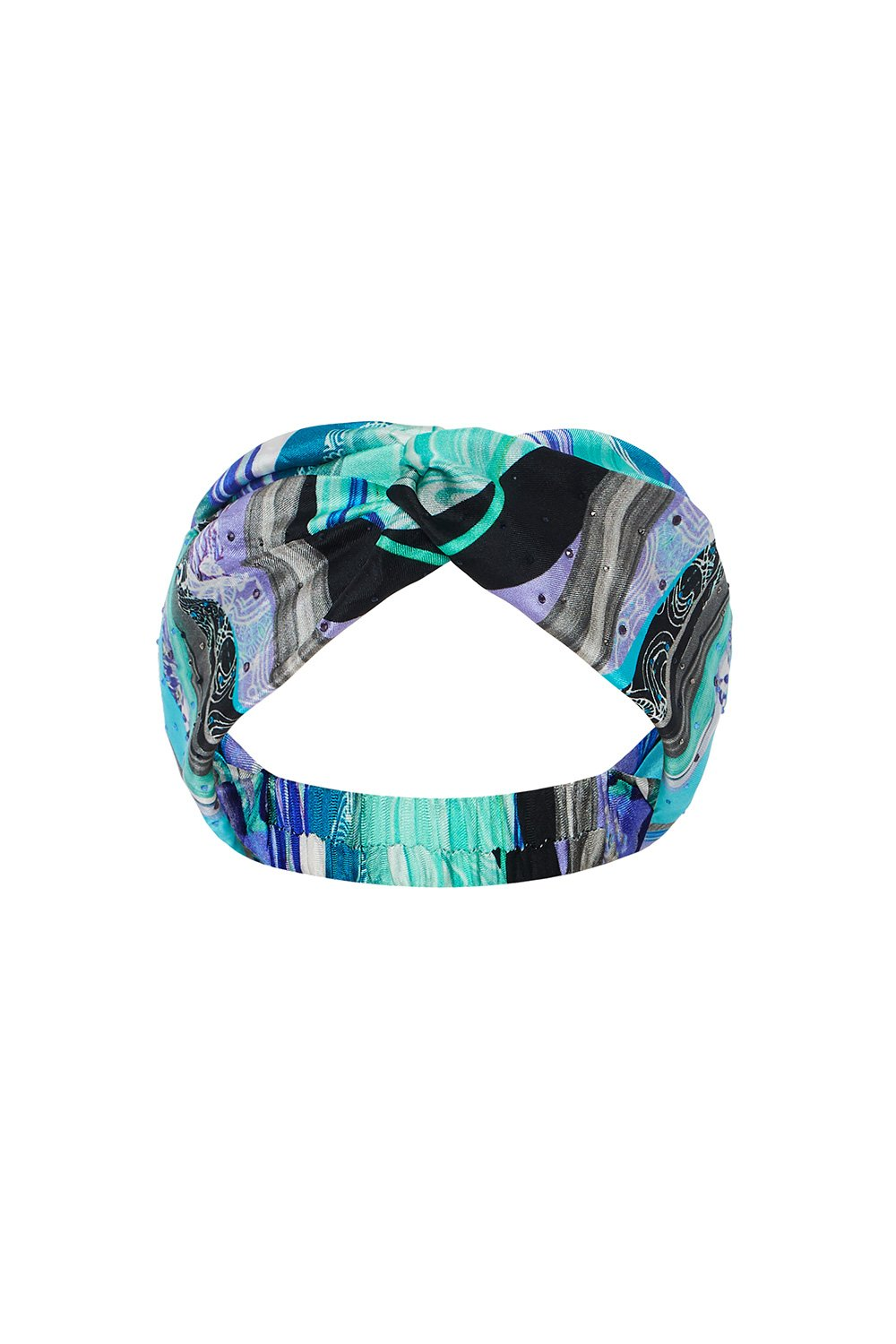 WOVEN TWIST HEADBAND WATEGOS WANDERLUST
