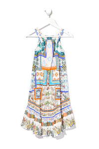 INFANTS DRESS WITH FRILL HEM GONE COAST