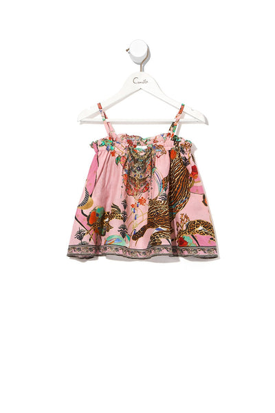 KIDS FLARE TOP ZIBA ZIBA