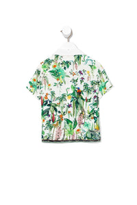 BOYS SHORT SLEEVE SHIRT DAINTREE DARLING