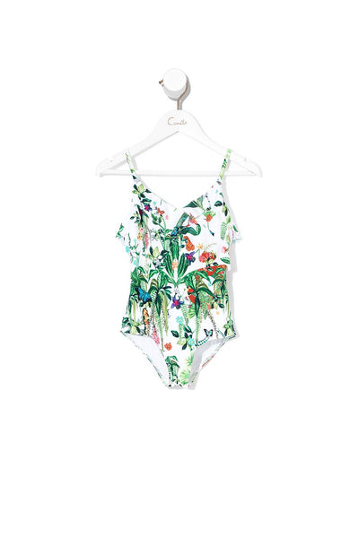 INFANTS MOCK WRAP ONE PIECE DAINTREE DARLING