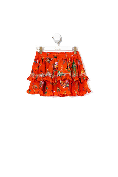 KIDS DOUBLE LAYER FRILL SKIRT PARADISE CIRCUS