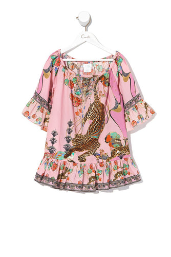 KIDS A-LINE FRILL DRESS ZIBA ZIBA