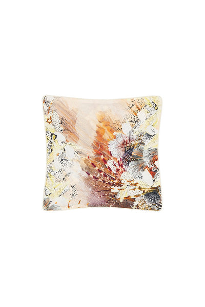 SMALL SQUARE CUSHION COASTAL TREASURE