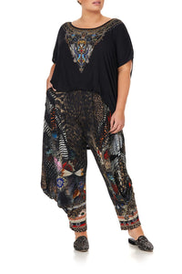 JERSEY DRAPE PANT WITH POCKET TREASURE CHASER - 3XL
