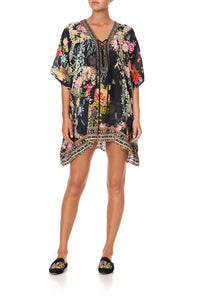 SHORT LACE UP KAFTAN HAMPTON HIVE
