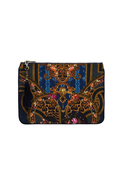 SMALL CANVAS CLUTCH FIELDS OF TREASURE