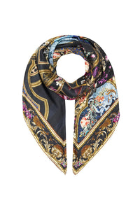 LARGE SQUARE SCARF FIELDS OF TREASURE