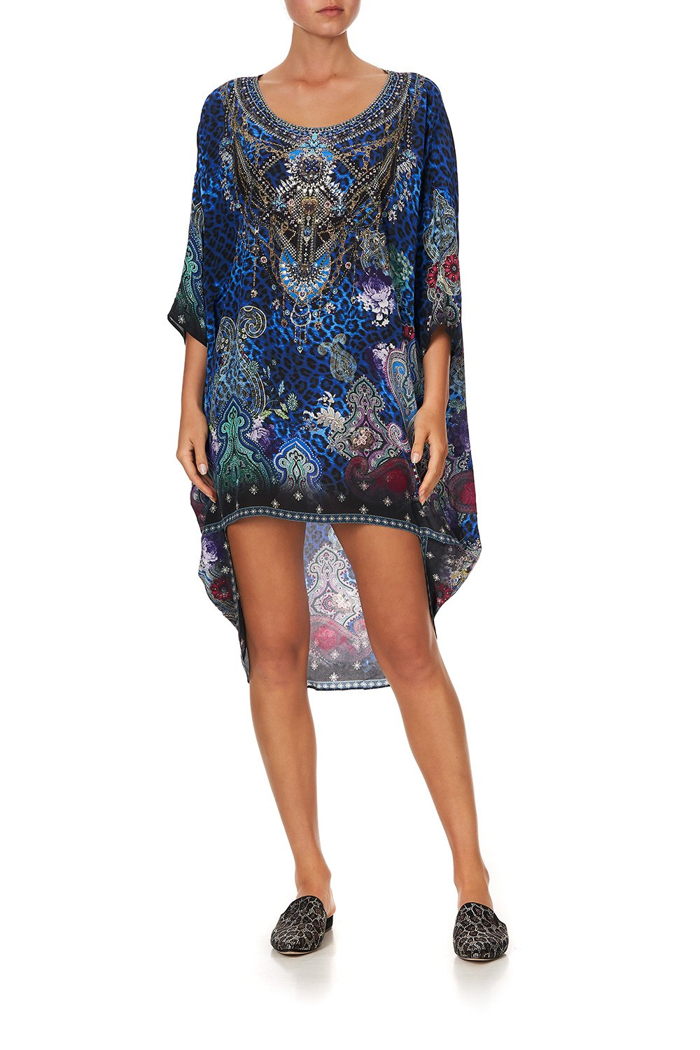 SCOOP BACK HEM DRESS CAMDEN MOON