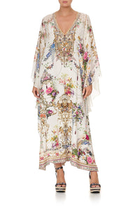 LONG RAGLAN SLEEVE FLARED KAFTAN BY THE MEADOW