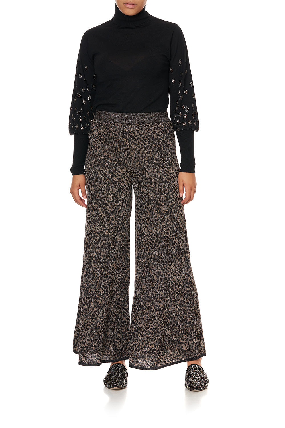 SUPER WIDE FLARE PANT ABINGDON PALACE