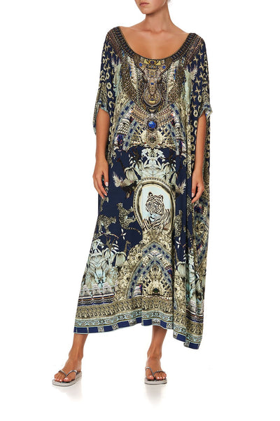 ROUND NECK KAFTAN A LITTLE PAST TWILIGHT