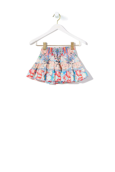 KIDS' TIERED SHORT SKIRT MISO IN LOVE