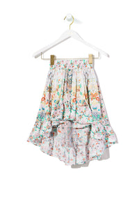 KIDS' HIGH LOW HEM SKIRT TIME AFTER TIME