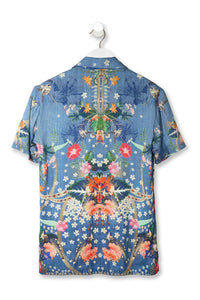 MEN'S SHORT SLV SHIRT FARAWAY FLORALS