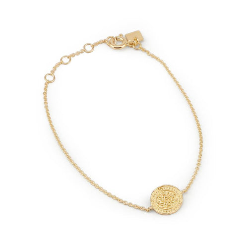 BY CHARLOTTE LOTUS BRACELET GOLD