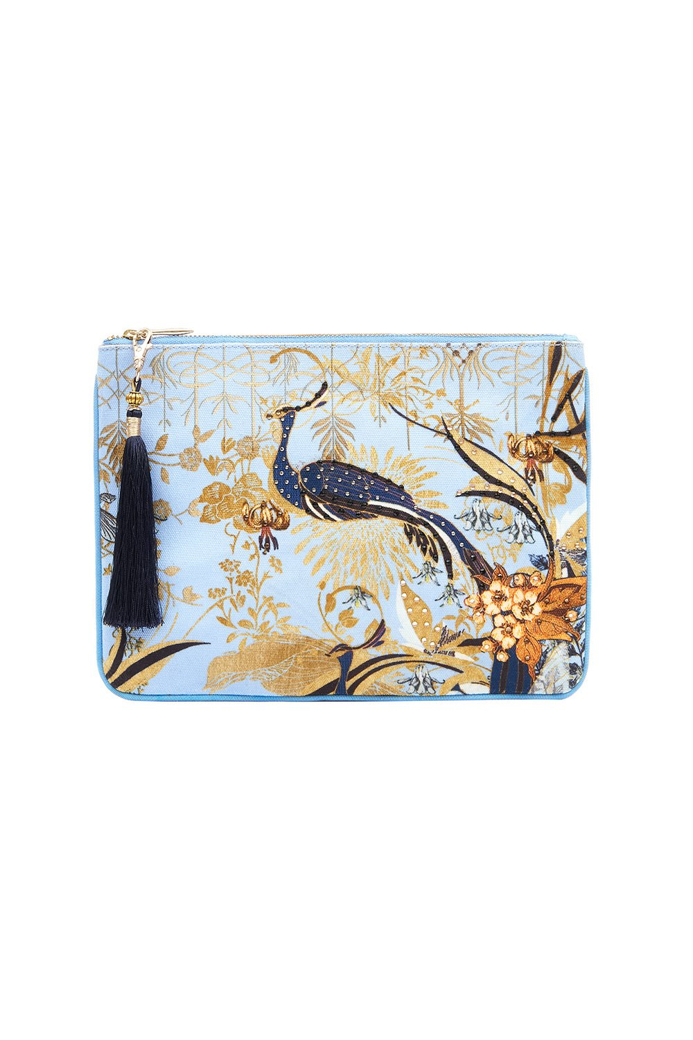 SMALL CANVAS CLUTCH FAIRY FOUNTAIN