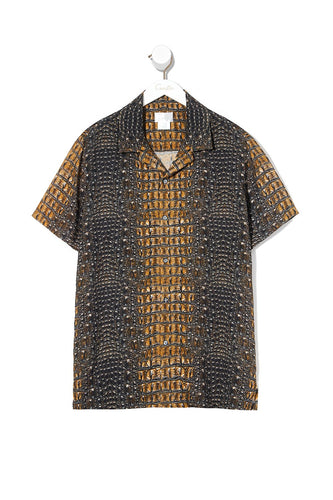 SHORT SLEEVE SHIRT CROCODILE ROCK