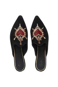 EMBELLISHED SLIPPER MIRROR MIRROR
