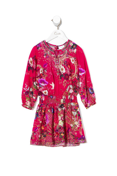 INFANTS RELAXED SHIRRED WAIST DRESS BEAUTIFUL BEINGS