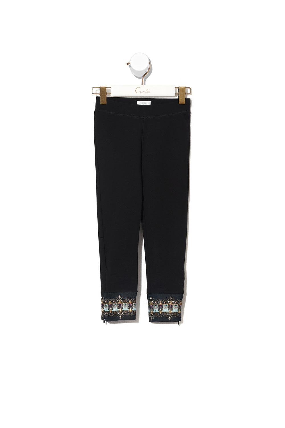 KIDS LEGGINGS WITH ZIP NOMADIC NYMPH