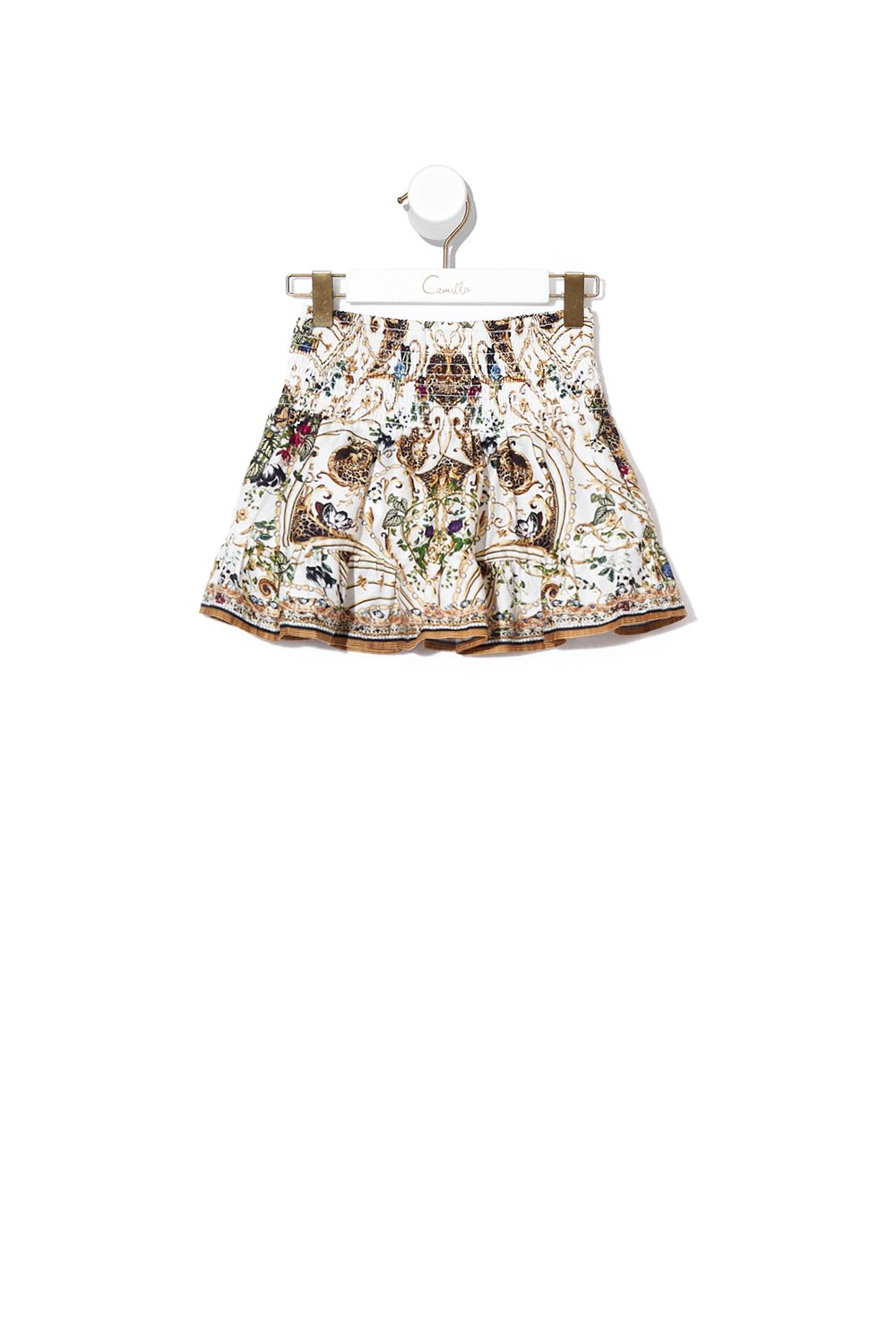 INFANTS SHIRRING WAIST SKIRT NIGHT WAITING FOR DAY