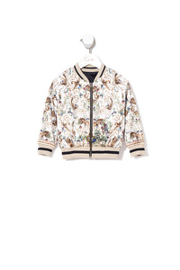 KIDS BOMBER JACKET REVERSIBLE NIGHT WAITING FOR DAY