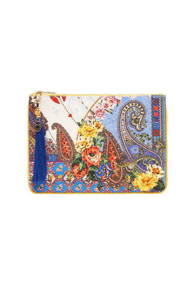 SMALL CANVAS CLUTCH FRIDA FREEDOM
