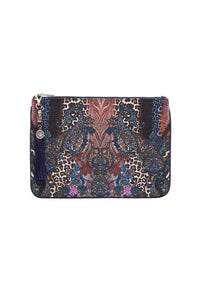 SMALL CANVAS CLUTCH FESTIVAL EXPRESS