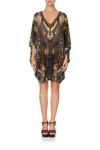 BAT SLEEVE DRESS KAKADU CALLING
