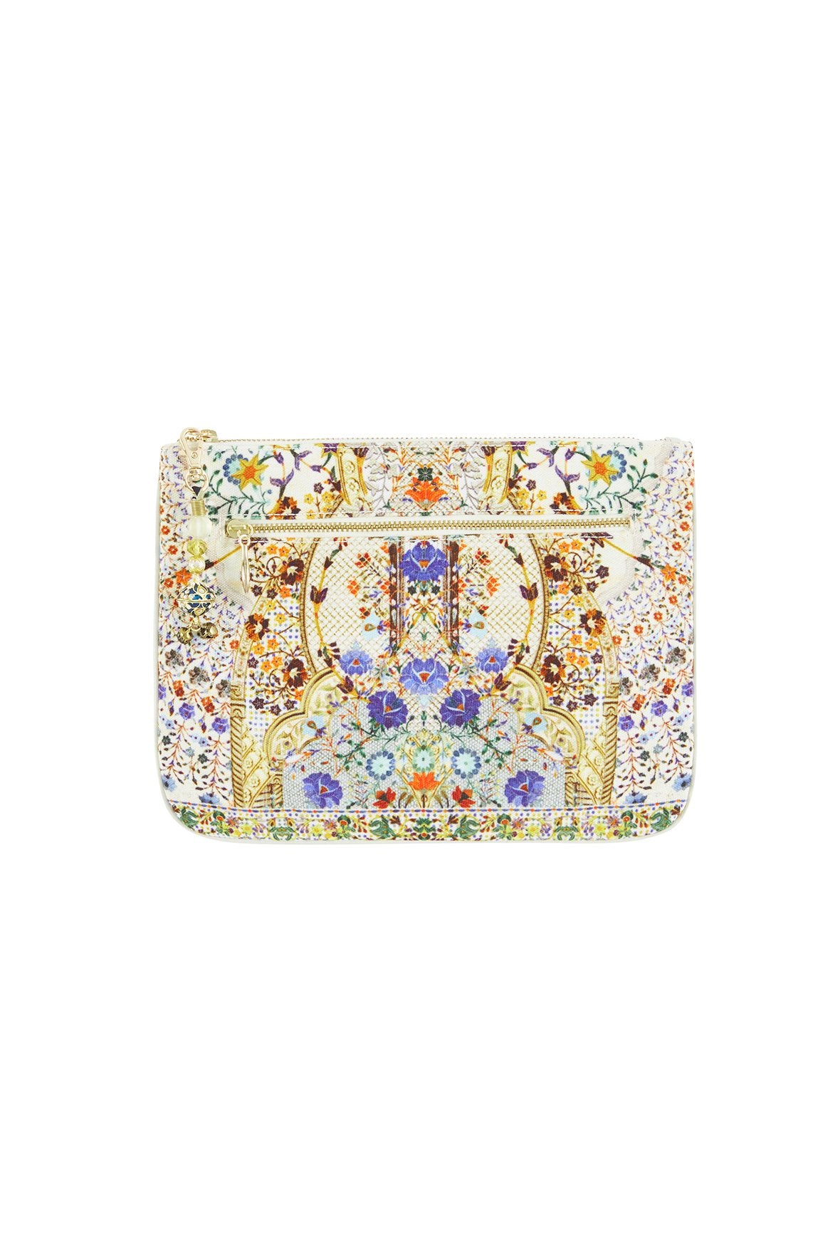 THE BUTTERFLY EFFECT SMALL CANVAS CLUTCH