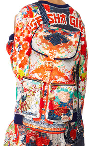 CAMILLA GEISHA GIRL EMBELLISHED BACKPACK